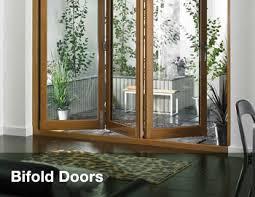 Wooden Bifold Patio Doors Cost Of Bifold Exterior Doors Home Design Hay Us