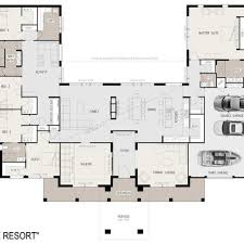 home plans with walkout basements modern house plans with open floor plan uk for narrow lots on