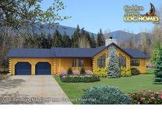 ranch style log home floor plans view log homes cabins and log home floor plans