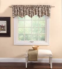 cassidy natural lined scallop valance curtain curtain u0026 bath outlet