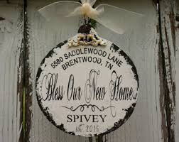 housewarming gift personalized hostess gift new home