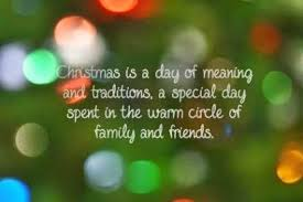 is a day of meaning and traditions a special day spent