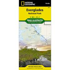 National Parks In Colorado Map by 243 Everglades National Park Trail Map National Geographic Store