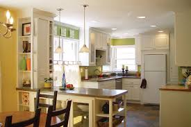 kitchen peninsula with pendant lighting ideas kutsko kitchen