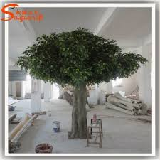large outdoor artificial trees branches landscaping make model