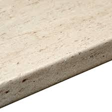 White Beading For Laminate Flooring B Q 38mm B U0026q Trieste Stone Laminate Post Formed 6mm Kitchen Worktop