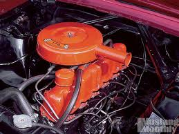 how to choose the correct paint for your vintage mustang engine