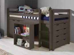 lit bureau pas cher lit superpos avec rangement pas cher lit mezzanine jim lit