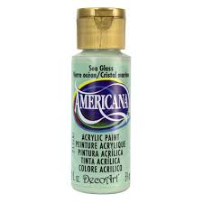 decoart americana 2 oz sea glass acrylic paint da297 3 the home