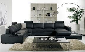 light brown leather corner sofa black leather corner sofa size u shaped with led light and coffee