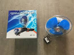 12 volt clip on fan new 8 12 volt car fan truck fan with clip cigarette lighter