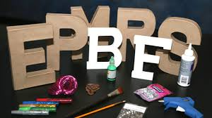 decorate paper letters for an alphabet baby shower big dot of