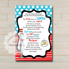 dr seuss baby shower invitations dr seuss baby shower invitation dr seuss invitations digital