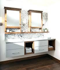 Open Shelf Bathroom Vanity Vanity With Open Shelves Idea Cottage Bathroom Vanity Or Bathroom
