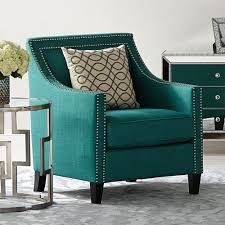 Teal Accent Chair Elements Erica Chair In Teal Kitchen Dining