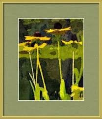 wild yellow coneflowers paint color palette by sherwin williams at