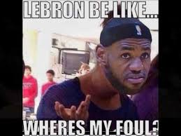 Lebron James Crying Meme - karceno on lebron james crying for fouls youtube