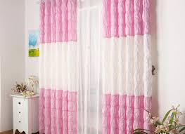 Ruffled Pink Curtains Pink Ruffle Curtains Eulanguages Net