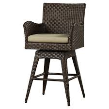 Rattan Kitchen Furniture Furniture American Style 30 Inch Bar Stools In Brown For Kitchen
