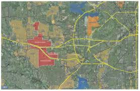 Dallas Fort Worth Zip Code Map by The Fort Worth Chamberletter Walsh Ranch