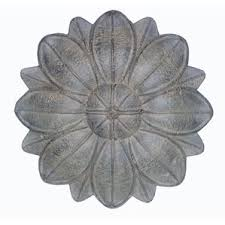 Metal Flower Wall Decor - outdoor wall décor you u0027ll love wayfair