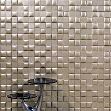 nappatile deluxe faux leather wall tiles touch of modern