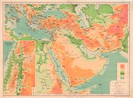 Maps Of Middle East by Figure 7 1 Bacon U0027s Map Of The Middle East 1913 Dislocating The