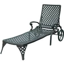Outdoor Chaise Lounges Darlee Nassau Cast Aluminum Patio Chaise Lounge Ultimate Patio