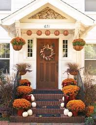 40 lovely thanksgiving porch decor ideas to add to your home