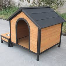 wooden dog kennel with storage and food tray u2013 crazy wholesalers