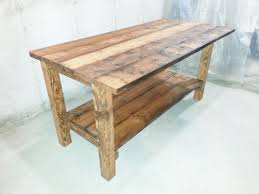 kitchen island made from reclaimed wood buy a crafted reclaimed wood kitchen island made to order