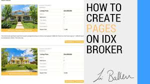 Real Estate Website Templates Idx by Idx Broker Pages Customizing For Real Estate Agent Websites