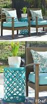 diy ladder light centerpiece u0026 outdoor makeover with big lots