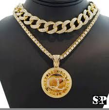 hip hop necklace images Accessories mens hip hop necklace set poshmark jpg