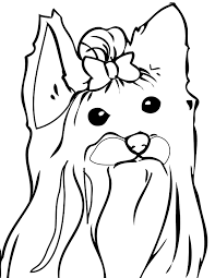 pet printable picture coloring pages dogs