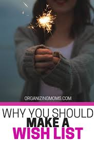 make your own gift wish list organizing moms