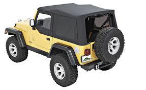 jeep soft top tan pavement ends tj soft top jeep wrangler parts