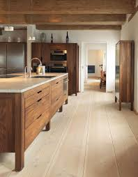 Modern Oak Kitchen Cabinets Modern Rustic Kitchen With Modern Wood Cabinets Wood Floors By