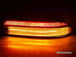 lexus sc400 dash warning lights 95 96 lexus z3 sc300 sc400 soarer u2014 1 2 red 1 2 clear led tail