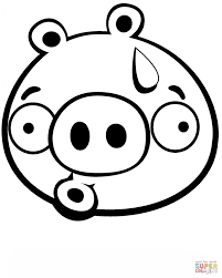 discouraged minion pig printable coloring page cartoon print