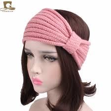 headband ear warmer women knotted style turban knit headband ear warmer handmade