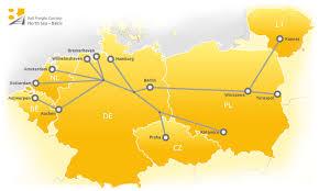 Baltic Sea Map North Sea U2013 Baltic Rail Freight Corridor