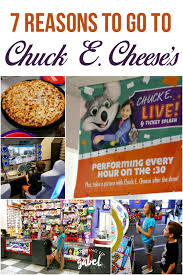 7 reasons to go to chuck e cheese s tonight