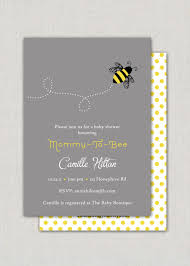 bumble bee baby shower invitations afoodaffair me