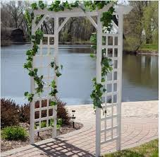 wedding arches outdoor wedding arch pergola garden trellis vinyl arbor outdoor patio