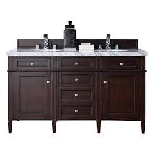 bathroom vanity cabinet no top james martin signature vanities brittany 60 in w double vanity in
