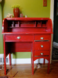 small roll top desk moving sale small red roll top desk
