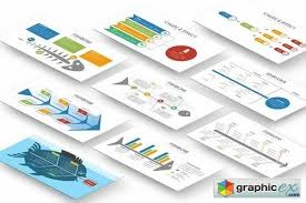 fishbone diagram powerpoint template free download vector stock