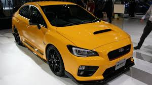 yellow subaru wagon this is subaru u0027s 325bhp wrx sti and you can u0027t buy it if you u0027re