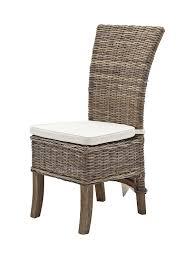 amazon com novasolo wickerworks salsa dining chair with cushion
